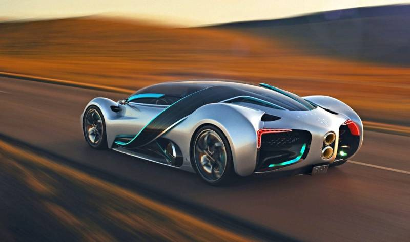hydrogen supercar XP 1 with a range of up to 1 635 km