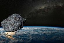 37 meter asteroid is approaching the Earth at high speed
