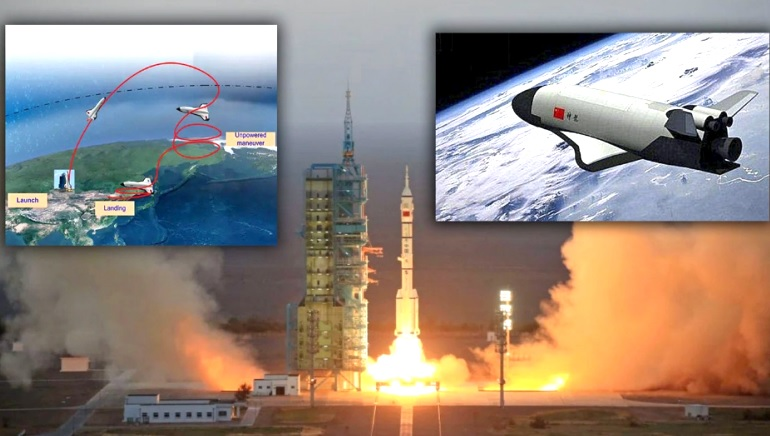 Chinese unmanned vehicle released unidentified object into space