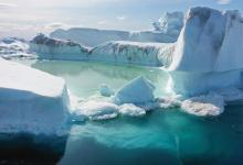 Greenland and Antarctica