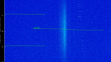 Photo of Signal from a secret object in space