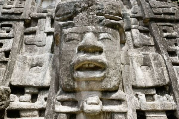 Mayan structure for negotiations with supernatural power