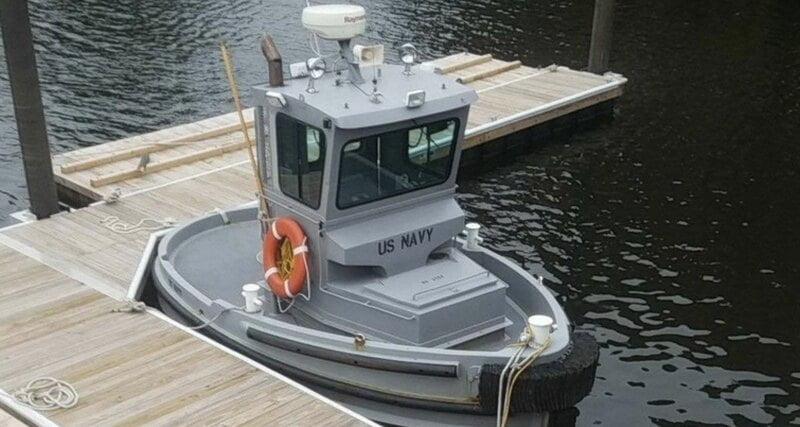 US Navy adopts tiny tug