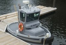US Navy adopts tiny tug