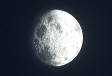 Water on the Moon in temperate latitudes has stumped NASA scientists