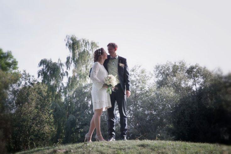 Bryllupsfoto af Camilla Johannesen