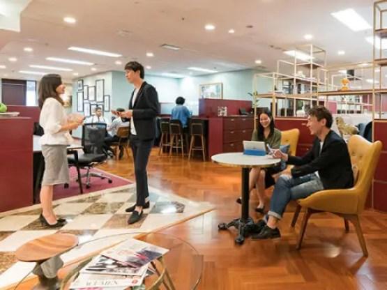 恵比寿ガーデンプレイスタワー レンタルオフィス 画像