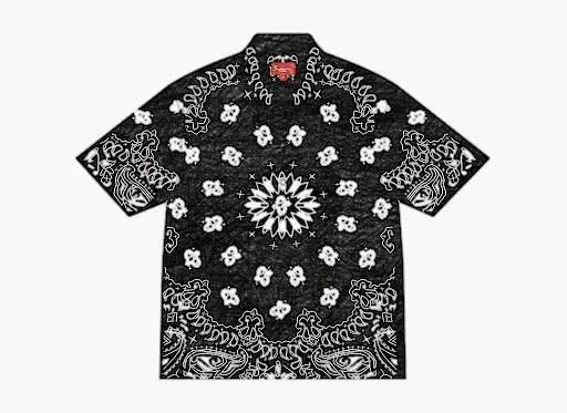 【木村拓哉】バンダナ柄黒シャツのブランドや購入できる店は?