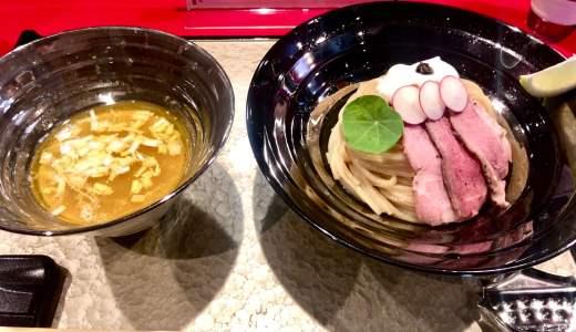 【江戸前つけ麺 銀座 魄瑛@東銀座】高級感溢れる、和と洋が融合した芸術作品
