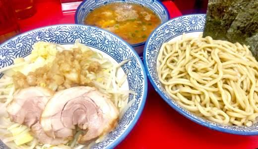 【田田@八王子市】ツルモチ麺がめっちゃ美味い!人気二郎インスパ店のつけ麺