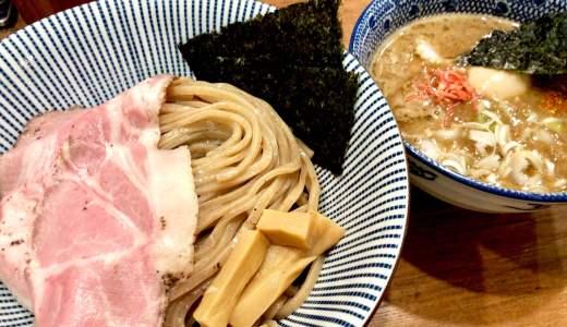 【俺の麺 春道@西武新宿駅】新都心歩道橋の下へ移転!海老香る豚骨魚介つけ麺