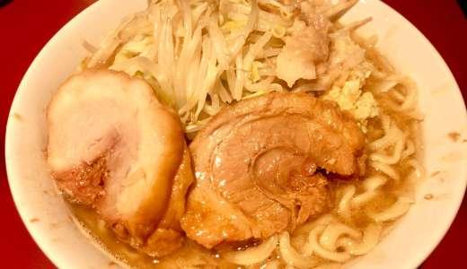【ラーメン二郎 荻窪店@荻窪駅】しょっぱウマでハイコスパで豚2枚は感激!