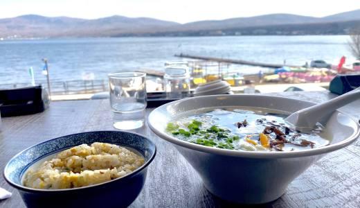 【Hurry Gannet@山中湖村】山中湖畔で絶景ラーメンランチ!炒飯もオススメ