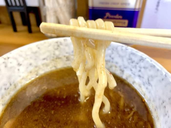 つけ汁と麺