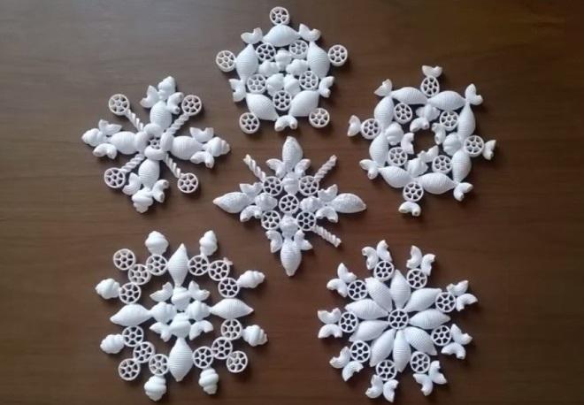 Copos de nieve de Makaron