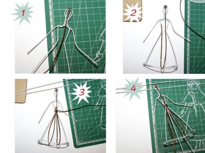 Frame Wire untuk patung-patung