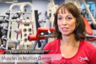 Diana Del Garbino, proponent of slow burn fitness workouts and founder of Muscles in Motion