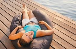 woman tanning, sun exposure, summer sun