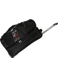 Denco-Sports-Luggage-NBA-Portland-Trailblazers-27-Rolling-Drop-Bottom-Duffel-0