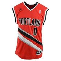 NBA-Portland-Trail-Blazers-Damian-Lillard-0-Mens-Replica-Jersey-X-Large-Red-0