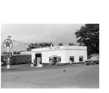 The Texaco before City Hall (from Oregon Digital).