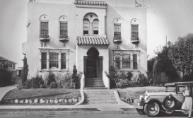 The Francis Marion Stokes Fourplex, the home of the architect. A Spanish Colonial Revival.