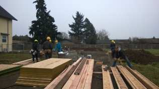 First day on site!