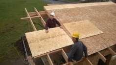 Garage Roof Sheating