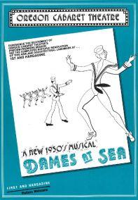 Dames At Sea Poster