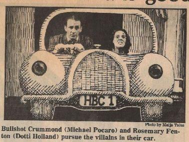 Bullshot Crummond Newspaper Clipping