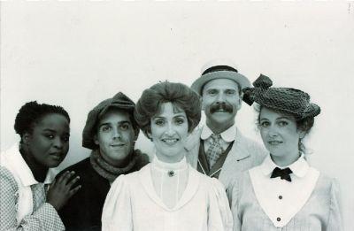 Tintype Cast Photo
