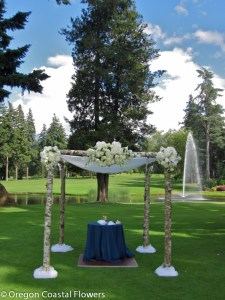 Beautiful Outdoor Wedding Chuppah