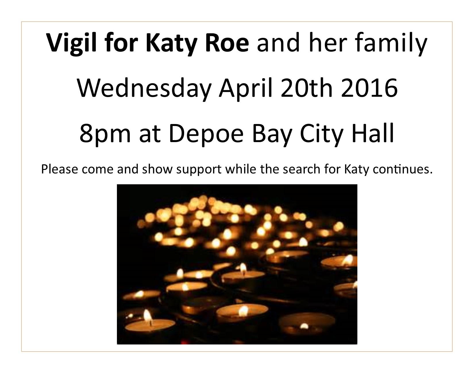 Vigil for Katy