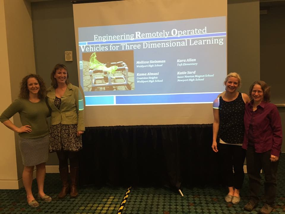 Katie Sard, Melissa Steinman, Kara Allen and Dr. Kama Almasi ready to share best practices with the audience.