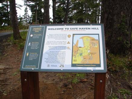 Safe Haven Hill Sign