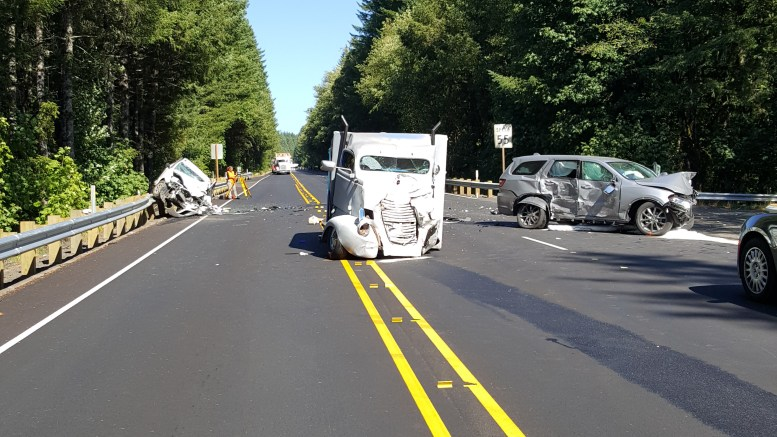 Fatal Crash On Hwy 20 Near Burnt Woods | oregoncoastdailynews