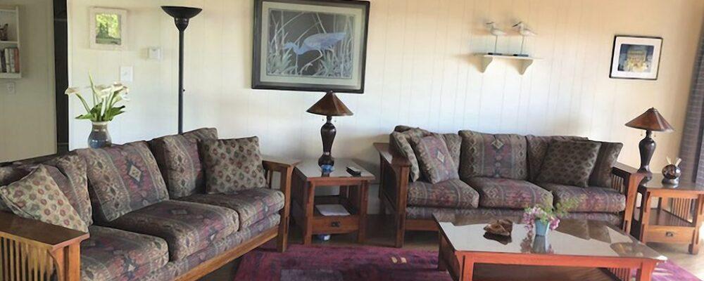 Sea Bella Oregon Coast Vacation Rental - Living Room