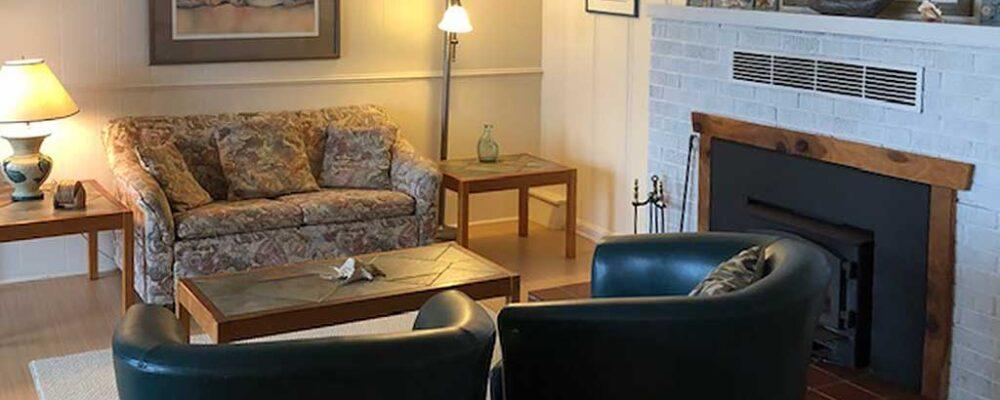 Living Room - Beach House at Spirit Cove