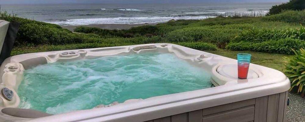 Hot Tub - Beach House at Spirit Cove