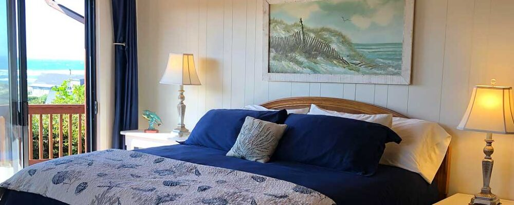Master Bedroom - Sea Bella Ocean View Home