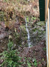 Waterfall at our cabin
