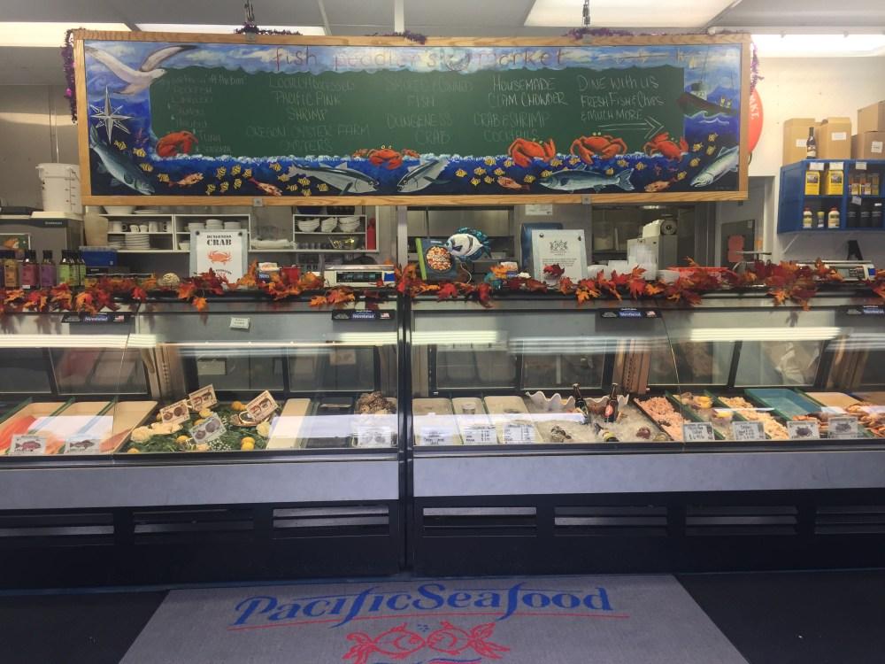 Seafood Market on the Oregon Coast