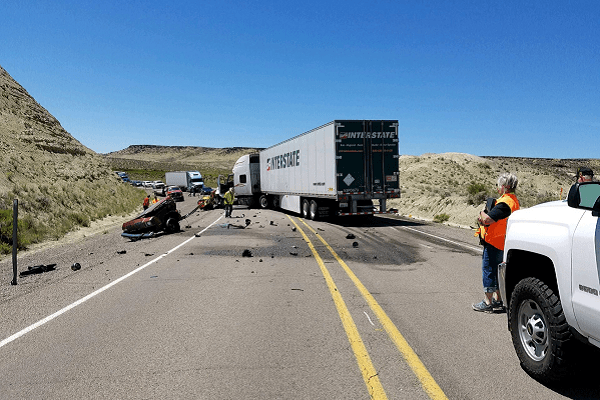 Fatal Crash on Hwy 95 South of Jordan Valley Oregon