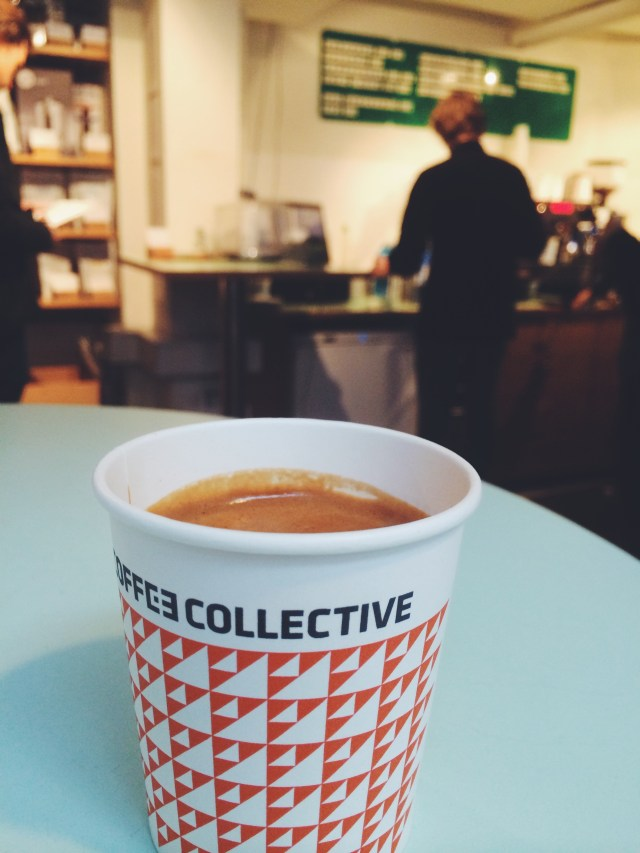 Cortado luxe from The Coffee Collective on Jæegersborggade