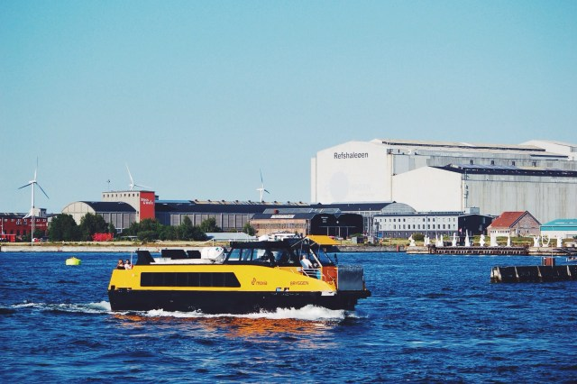 Movia water taxis