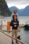 Aurlandsfjord | Flåm | Norway by Rail from Oslo to Flåm via Oregon Girl Around the World