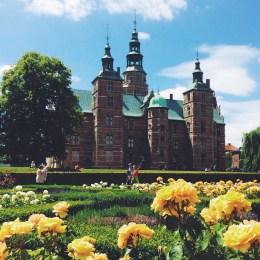 Rosenborg Slot Rose Garden