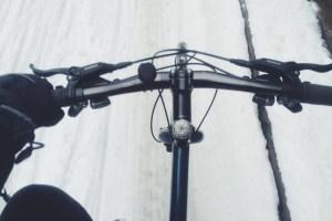 Viking Biking Snow Copenhagen Denmark