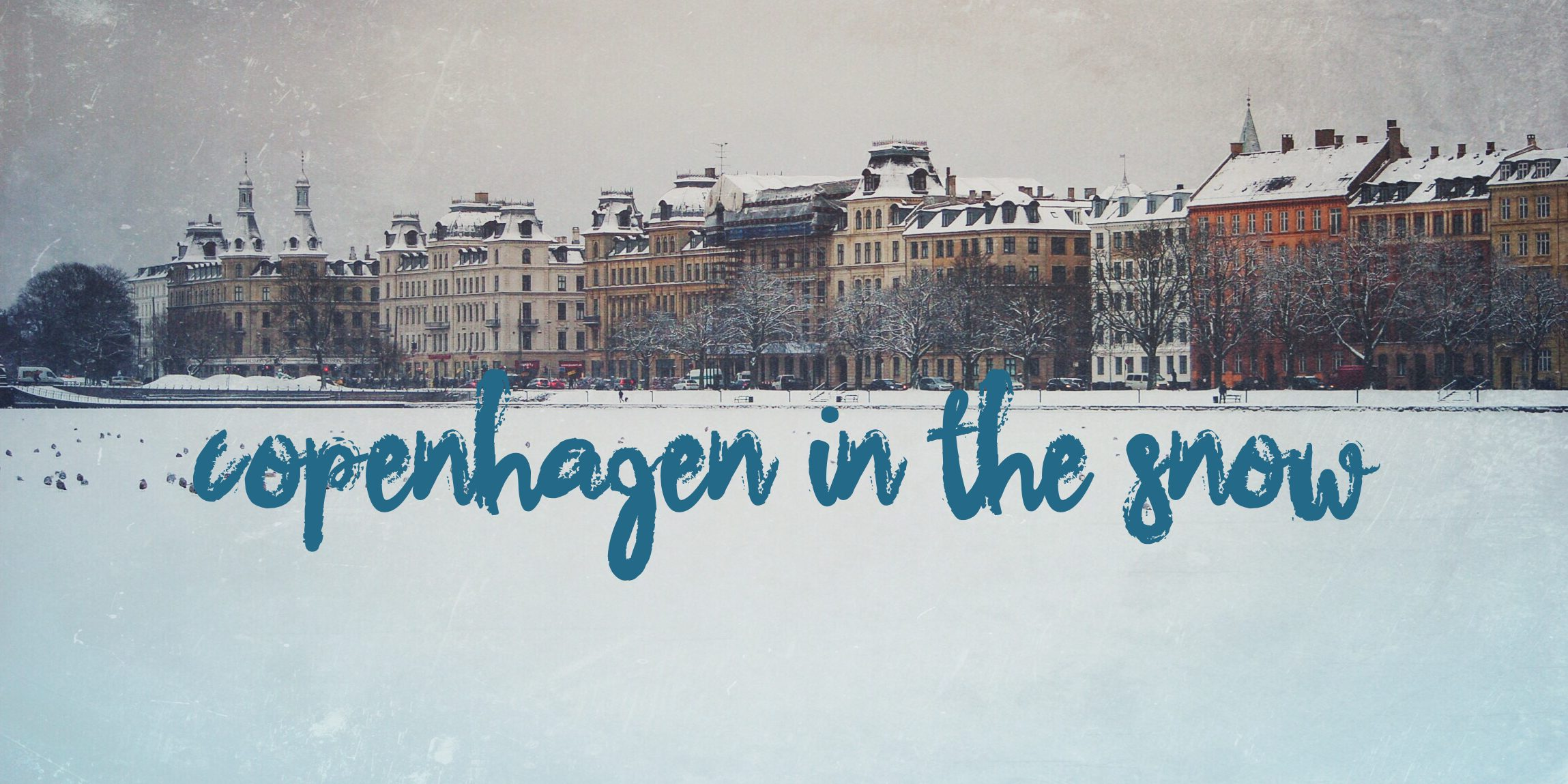 Copenhagen Denmark Snow