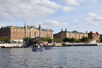 Rent an Electric Picnic Boat From GoBoats at Islands Brygge on Copenhagen Canal | 10 Must Do's This Summer in Copenhagen | Oregon Girl Around the World